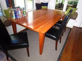 Custom Cherry Kitchen table