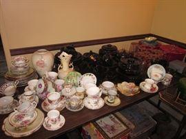 China and dish sets.