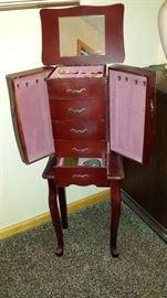 Small jewlery armoire