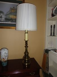 One of several lamps throughout the house