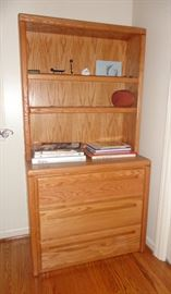 Bookcase with drawers - matches desk and filing cabinet