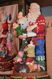 Huge Santa Collection and lots of Christmas Decor