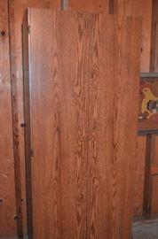 Very nice, locking storage cabinet, many shelves inside, perfect pantry!!