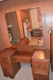 Vanity that is from 3 piece bedroom suite purchased from Payne Furniture Store in Galt, MO