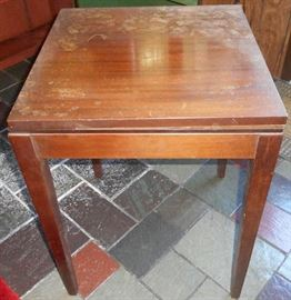 Old game table