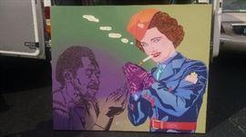 CLAYTON LEFEVRE - LARGE POP ART