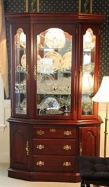 Beautiful Colonial china cabinet