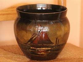 Phoenix Ware English art pottery jardiniere by Forresters