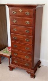 beautiful mahogany lingerie chest (semanier) by Jamestown Sterling