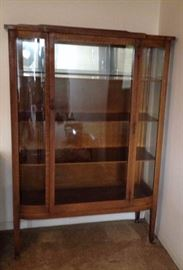 Circa 1930's display cabinet