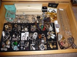 FINE JEWELRY-MOSTLY STERLING SILVER