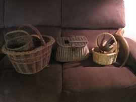 sofa & baskets