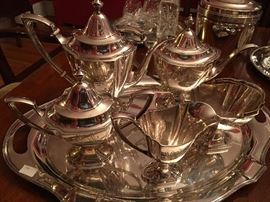 Sterling silver service