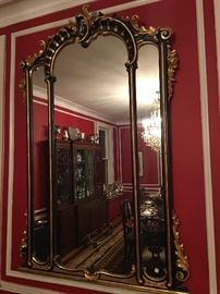 French Empire pier Mirror