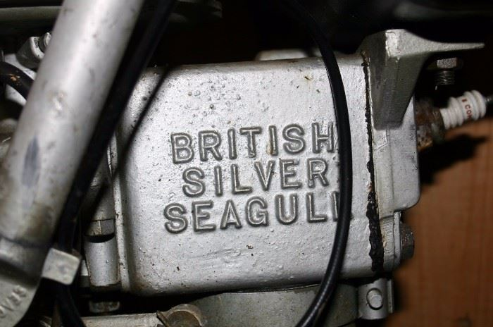 British Silver Seagull Motor
