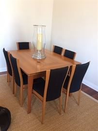 Roche Bobois dining table for 10 - has 8 chairs