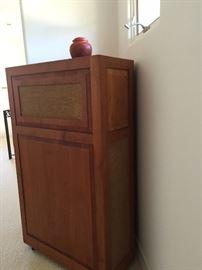 Klipsch corner custom made teak speakers
