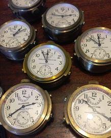Hamilton model 22 chronometers US navy 1940's - approx 30 of them