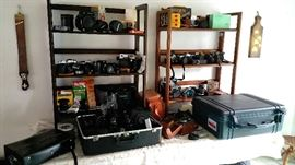 Cameras galore - small, medium and large format