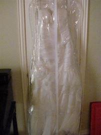 Size 8 Wedding Dress. Never used.