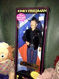 Kinky Friedman talking doll