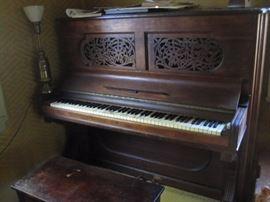 Turn of the century Steinway Piano.