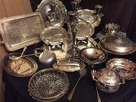 Lots of Silver Plated Items