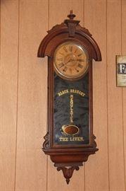 Antique Regulator Clock