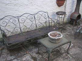 Vintage Iron Garden Furniture