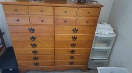 Maple dresser - $50