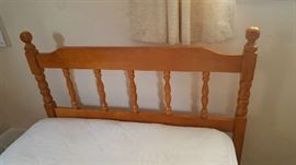 Maple twin headboard -$40