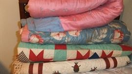 Handmade quilts and comforters