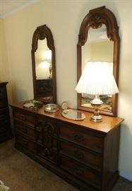 DRESSER - MATCHES CHEST OF DRAWERS AND HEADBOARD