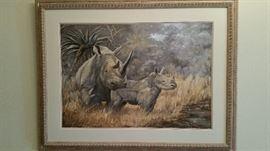 Original art by artist Norman Newmann