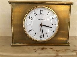 Tiffany & Co Mantle Clock