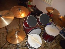 Remo,Crashride,Avedis Zildjan,Sabian,ZXT  cymbals