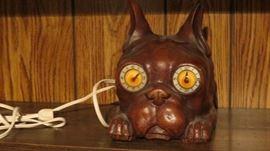 Duke the watch (clock) Dog