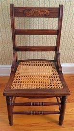 Semi-Antique Cane Seat Chair
