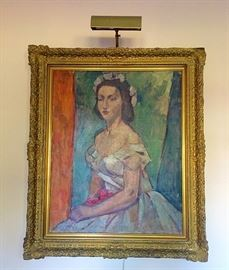 Gorgeous Antique Framed Painting