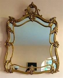 Gorgeous Semi-Antique Mirror
