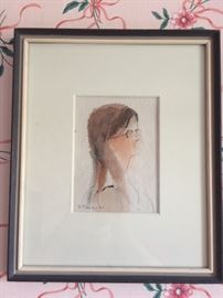 Watercolor by F. Tandes