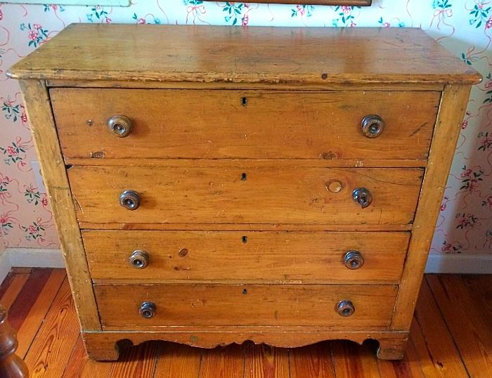 Antique Primitive Chest of Drawers