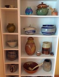 Collection of Various Pottery