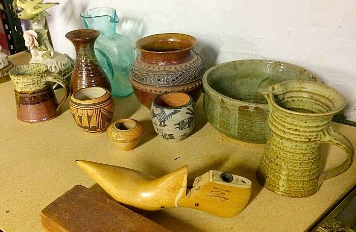Vintage Pottery & More