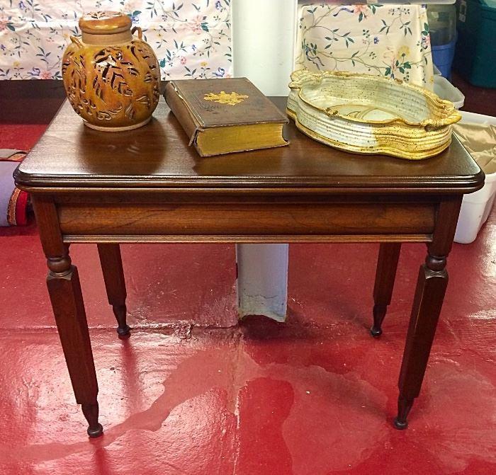 Antique Accent Table & More