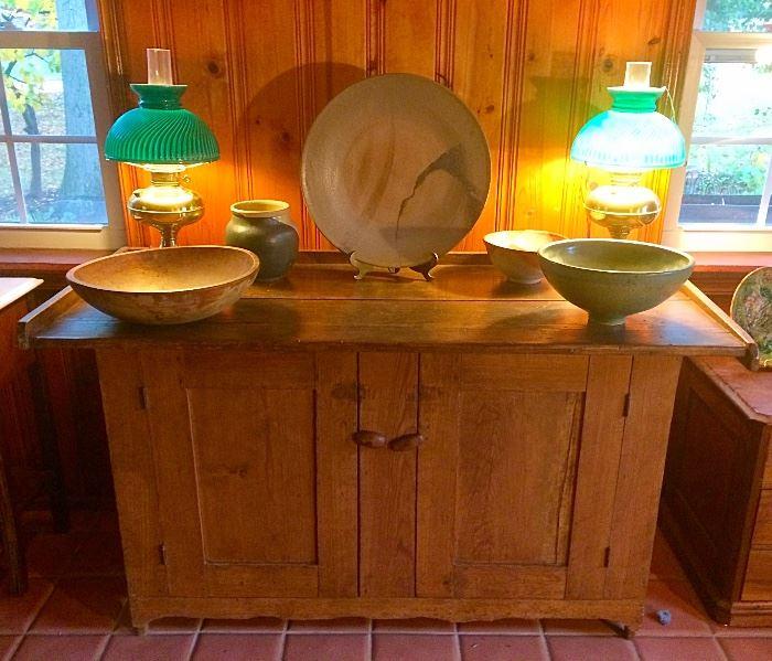 Antique Primitive Chest / Kitchen Island