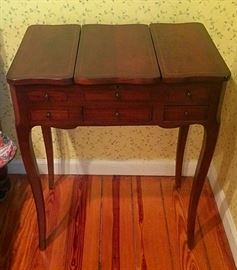 Small Antique Vanity / Jewelry Standing Chest