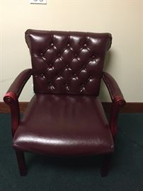 Office desk side chair tufted $35.00 ea. **BUY IT NOW PAYPAL**    LOT#802