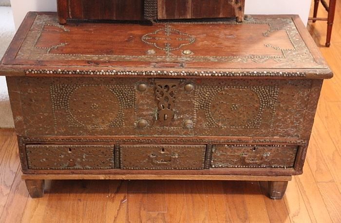 ornate chest from Kuwait