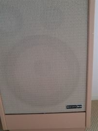 """Pair of retro speakers by Scott. PRO-100 with 15"""" woofers!"""